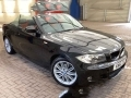 2011 BMW 118i Sports Convertible Manual Black with Black Hood AC 17 inch Alloys Cat C 64,000 Miles KN61ZGZ