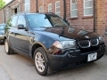 2004 BMW X3 2.5i SE Left Hand Drive Black with Black Leather Automatic 51,000 miles 1 Owner FSH KT53VLP