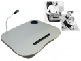 4-in-1 Laptop Cushion With Built in LED Work Lamp LC200 *Out of Stock*