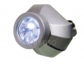 Omega Dynamo 3 Led Torch with Crank Handle Silver or Black LED200S *Out of Stock*