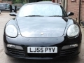 2005 Porsche Boxster S Convertible 3.2 987 S Manual 6 Speed Black with Black Leather 2 Owners 74,511 miles FSH LJ55PYV