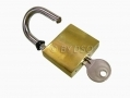 40mm Heavy Duty Brass Padlock with Hardened Steel Shackle and 3 Keys LK016 *Out of Stock*