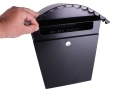 Bachmayr Black Mail Box with Key MB-03-BLACK *Out of Stock*