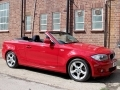 2011 BMW 118i Sports Convertible Manual AC Red with Black Hood 1 Previous Owners 38,000 Miles FSH MT11UYP