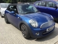 2012 Mini Cooper Avenue Convertible Blue Black Hood Half Leather 17 inch Alloys 70,000 miles FSH MW12KSZ