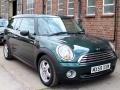 2009 Mini One Clubman 1.4 5 Door Automatic Green Alloys Air Con Chrome Line Bluetooth 58,000 miles MX59XXW