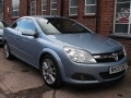 2007 Vauxhall Astra Twintop 1.8 Design Convertible Automatic Petrol Park Sensors Air Con Alloys 1 Previous Owner 68,000 miles FSH NV07DVC