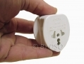 Omega 3 Pin UK Travel Adapter Plug OM21118