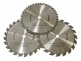 Trade Quality 3PC 190mm TCT Circular Saw Blades with 16mm Bore PA022 *Out of Stock*