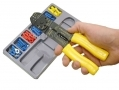 Comprehensive 101 Piece Crimper and Terminal Set With Wire Cutters PL262 *Out of Stock*