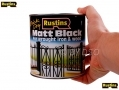 RUSTINS Professional Trade Quality Hardware Black Matt 1Litre RSBLAM1000 *Out of Stock*