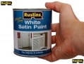 RUSTINS Professional Trade Quality Hardware Satin White 500ml RSWHISW500 *Out of Stock*
