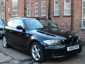2010 BMW 116D 2.0 116 ES Black 3 Door Alloys AC 2 Owners 110,000 miles Major Service Excellent Condition SA10UPG