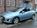2011 Peugeot 308 CC Convertible 1.6 THP 156 Active Blue Petrol Manual Alloys AC 2 Owners 69,000 miles SB61AJO