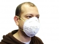 Pack of 3 Dust Masks with Valve with Adjustable Nasal Strip SF040