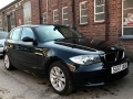 2007 BMW 116i 1.6 ES Hatchback Manual Petrol Black 5 Door 86,000 miles Service History SG57UUE