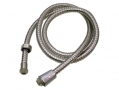 "Ashley Housewares 1.5m Bath Shower Hose with  1/2"" Thread SH261"