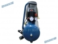 Silverline 1.5HP 24 Litre 4.5 CFM Oil Free No Fumes Air Compressor SIL268436