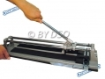 Silverline Heavy Duty Tile Cutter 400mm with Width Guide and Tungsten Carbide Cutting Wheel SIL290193