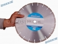 Silverline Asphalt Cutting Disc Blade Laser Welded Diamond Segments 300 x 20mm SIL580438 *Out of Stock*