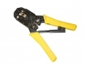 Silverline Professional Electrical Telecom Ratchet Crimper 8P8C 6P6C 4P4C SIL675107