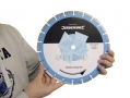 Silverline Professional Quality 300mm Marble Cutting Diamond Disc 20mm Bore SIL783113