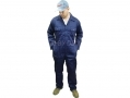 Silverline Trade Quality Boiler Suit Overall XL Navy Blue SIL832743