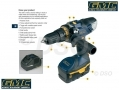 GMC 18v Drill with 2 Batteries and Carry Case SIL920245 *Out of Stock*