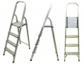 Ultra Lightweight 4 Tread Aluminium Step Ladder SL057 *Out of Stock*
