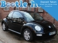 2002 VW Beetle Herbie 2.0 SE in Black with Body Decals Years MOT Full Service NU02UJS