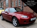 2009 Mazda MX-5 Roadster Coupe Hard Top 2.0i AC Alloys Option Pack 43,100 miles FSH CK09AZC