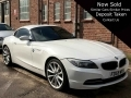 2010 BMW Z4 2.5 23i S Drive White Manual Petrol Black Leather 19 inch Alloys 66,000 miles FSH FD59WVS