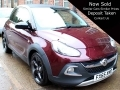 2016 Vauxhall Adam  1.2i Rocks Air 3dr Convertible Manual Purple 1 Owner 14,000 miles FSH FX65XMD