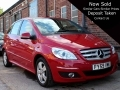 2009 Mercedes B Class B160 SE 5dr CVT Auto Red AC Alloys  2 Previous Owners FSH 62,550 miles FY59VMK