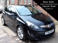2012 Vauxhall Corsa 1.7 CDTi ecoFLEX 16v SRi 3dr Diesel Black AC Sat Nav Alloys FY62BVC *Out of Stock*
