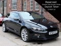 2010 VW Scirocco 2.0 TSI 210 GT 3dr DSG Black Tan Leather 31,111 miles 1 Previous Owner Full VW Service History GF60ZVZ