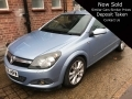 2006 Vauxhall Astra Convertible 1.8i 16v Design Twin Top 2dr 66,000 miles Excellent Condition GU56HRW