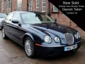 2007 Jaguar S Type XS 2.7 Diesel Auto Blue Alloys 2 Owners AC Full History 96,500 miles HAZ3913