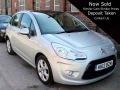 2012 Citroen C3 1.6 VTi 16v Exclusive 5dr Silver Automatic Air Con Alloys 48,000 miles Panoramic Roof FSH HK12BZM