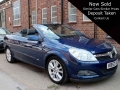 2007 Vauxhall Astra Twintop 1.8 Design Convertible Manual Petrol Park Sensors Air Con Alloys 1 Previous Owner 53,000 miles FSH KB57AZX