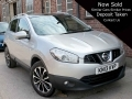 2013 Nissan Qashqai N-Tec + Dci Manual Diesel Silver Pan Roof Alloys 73,000 Miles 1 Previous Owner KN13KVP