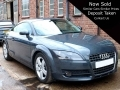 2009 Audi TT 2.0 TFSi Meteor Grey Manual 6 Speed Alloys AC 76,000 miles 2 Previous Owners FSH MOT Excellent RJ59EFN