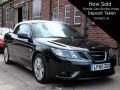 2010 SAAB 9-3 Convertible 1.8t Vector Sport Black Auto 13,805 miles 1 Owner FSH LF60ZGO