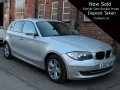 2007 BMW 118d SE 2.0 5 Door Manual Diesel Silver AC Alloys 2 Previous Owners Years MOT 72,000 miles LS57HSF