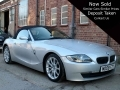2008 BMW Z4 2.0 i SE Roadster 2dr Silver with Black Hood Alloys Full Black Leather AC 78,000 Miles FSH MD08FZY