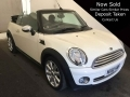 2010 Mini Cooper 1.6 122 Convertible Beige with Black Hood Half Leather Petrol Manual 6 Speed 63,000 Full Service History NX10HBF