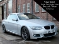 2012 BMW 320i 2.0 M Sport Convertible Silver Black Leather Manual Petrol 48,0000 miles NX12PKE