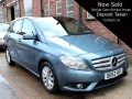 2013 Mercedes B180 CDI BlueEFFICIENCY 1.8 SE Automatic Pan Roof Blue 15,000 miles Full Service History OE62HSY