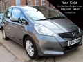 2012 Honda Jazz Hatchback 1.4 i-VTEC ES Grey 5dr Manual 15,000 Miles 2 Owners FSH OV62LBN