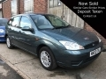 2002 Ford Focus 1.6 LX Automatic Green 18,000 miles AC Stereo Heated Screen 3 Owners Long MOT Good Condition WK02OVL